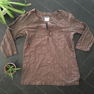 Make an offer! Women's mediumBrown Columbia blouse